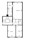 Lejlighedsplaner for Rugvænget - et billede